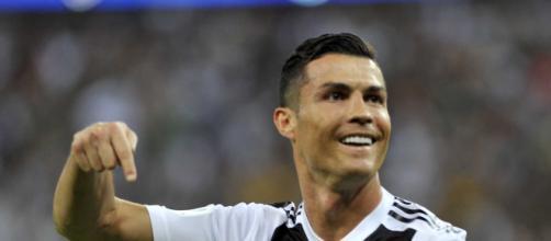 Cristiano Ronaldo, attaccante della Juve.