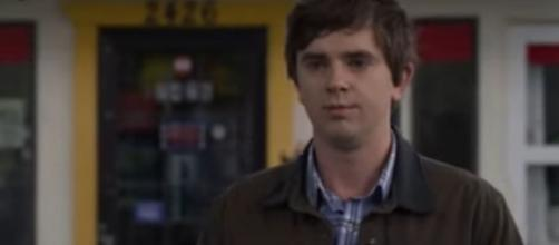 "Dr. Murphy (Freddie Highmore) divulges what happened with Lea and still has choices to make on ""The Good Doctor."" [Image source:TVPromos-YouTube"