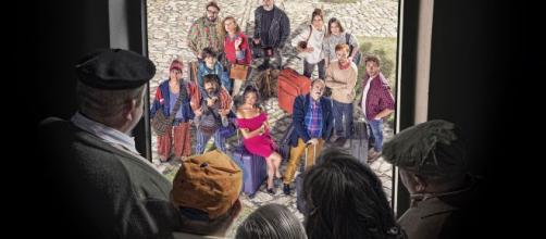 El Pueblo llega a Telecinco el miercoles 15 de Enero, con actores como Santi Millan, Carlos Areces, Ingrid Rubio, etc.