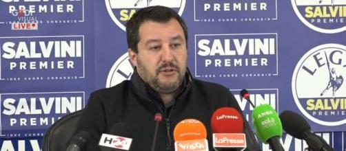 Matteo Salvini attende l'esito delle elezioni Regionali
