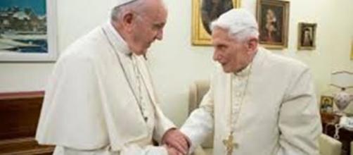 Papa Francesco e papa Benedetto