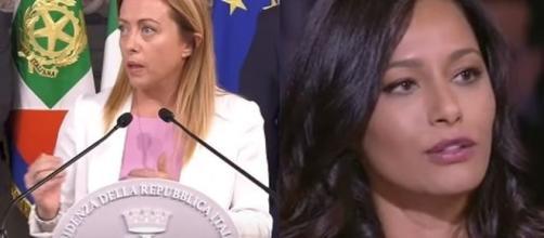 Rula Jebreal a Sanremo, Meloni: 'Pagata migliaia di euro, anche da chi vota Lega e Fdi'