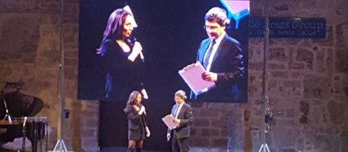 Ussi Sicilia, premiazione della campionessa Gloria Peritore a Palermo.