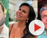 Carlos Bolsonaro compartilha foto e revolta Gretchen. (Reprodução/Instagram @carlosbolsonaro @mariagretchen @thammymiranda)