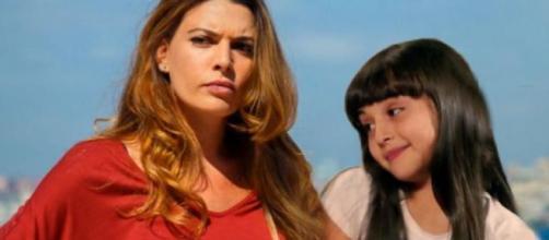 Angela (Claudia Ruffo) Bianca (Sofia Piccirillo).