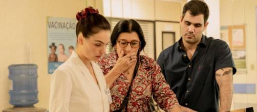 Betina ajudará Lurdes e Magno na busca de informações sobre Domenico