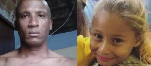 Caso Emanuelle: vizinho revela como matou menina. (Reprodução/Fotomontagem)