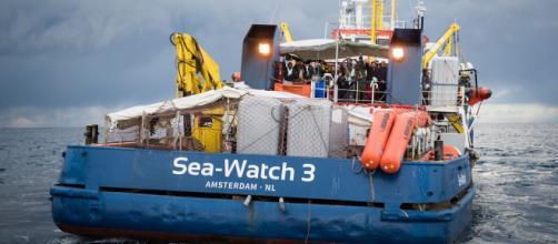 La nave Sea Watch 3 utilizzata per salvare i migranti.
