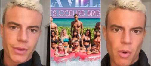 La Villa des Coeurs Brisés 5 : Adrien Laurent balance sur ses prétendantes et sur les montages de la production. ®Snapchat : Adlaurenzo.