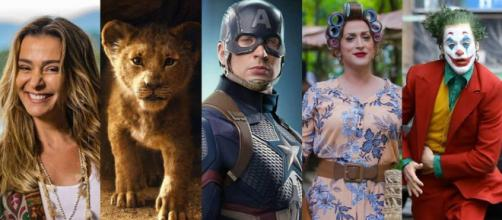 Público e arrecadação de filmes no Brasil cresceram em 2019. (Fotomontagem)