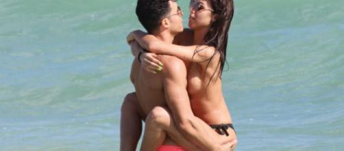 Sofía Suescun y Kiko: topless en Miami