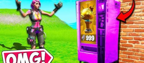 "Vending Machines have been found in ""Fortnite"" Chapter 2. [Image Credit: BCC Trolling / YouTube screencap]"