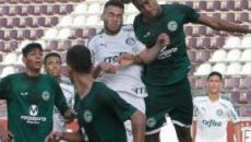 Goiás elimina Palmeiras da Copa São Paulo