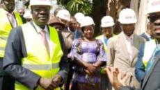 Cameroun : Mounouna Foutsou visite les locaux du nouveau bâtiment du Minjec