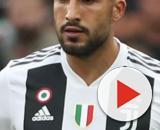 Nella foto Emre Can, centrocampista della Juventus.