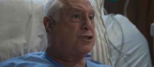 Alberto vai ficar ainda mais debilitado e dará um susto em Vera. (Reprodução/TV Globo)