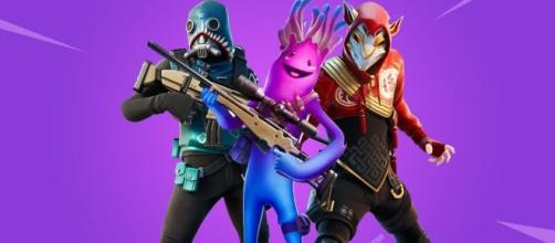 All new cosmetic items in 'Fortnite' patch v11.40. [Image credits: Striker Gaming/YouTube screenshot]