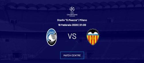 Biglietti Atalanta-Valencia in vendita dal 16 gennaio