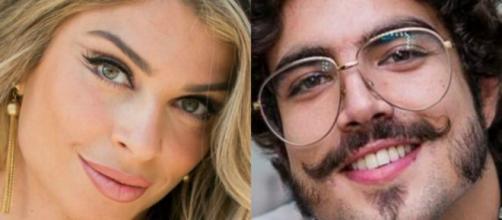 Grazi Massafera e Caio Castro estariam namorando, mas nenhum dos dois confirma. (Fotomontagem)