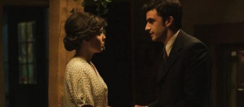 Il Segreto: Marcela e Tomas sono amanti