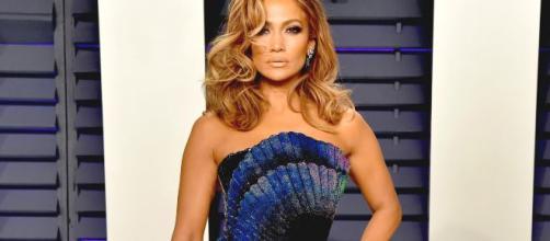 La popstar statunitense Jennifer Lopez.