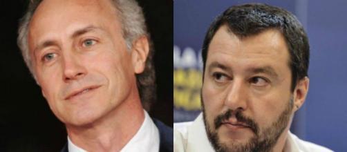 Marco Travaglio e Matteo Salvini