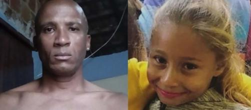 Menina Emanuelle foi morta com 13 facadas pelo vizinho. (Arquivo Blasting News)