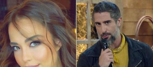 Modelo acusa Marcos Mion de paquerá-la e expõe supostas mensagens do apresentador. (Fotomontagem/Reprodução/Instagram)
