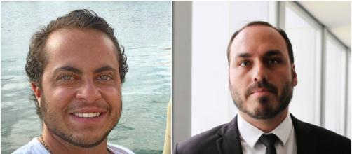 Thammy Miranda pede que Carlos Bolsonaro explique motivo das fotos postadas no Twitter. (Arquivo Blasting News)