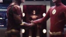 Crisi sulle Terre Infinite: Flash dell'Arrowverse incontra nella speed force l'eroe DCEU