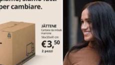 Ikea gana dinero con el 'Megxit' y se burla de Meghan y Harry