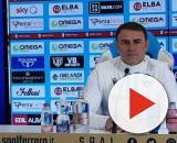 L'allenatore della Spal Leonardo Semplici