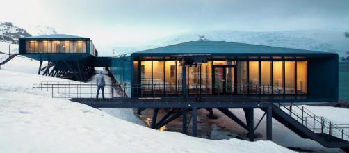 A nova estação de pesquisa brasileira Comandante Ferraz na Antártida. (Arquivo Blasting News)