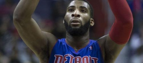 Andre Drummond will be the biggest target among contending teams leading up to the deadline. [image source: Keith Allison- Wikimedia Commons]