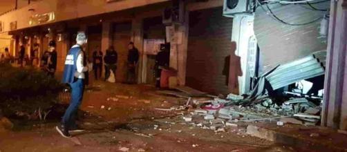 Foggia: quarta bomba distrugge un negozio del centro a Orta Nova - lettoquotidiano.it
