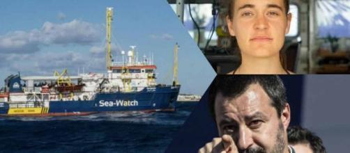 Il nuovo sbarco della Sea Watch fa infuriare Salvini