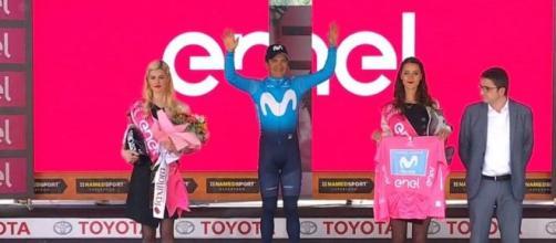 Il vincitore dell'ultimo Giro d'Italia Richard Carapaz