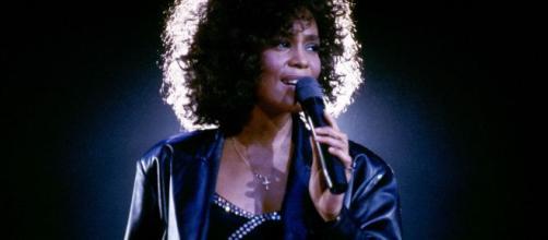 La grande cantante Whitney Houston