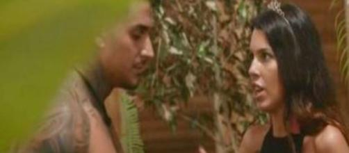 La isla de las tentaciones: Andrea provoca celos a Ismael al ligarse a Óscar