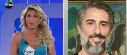 Lívia Andrade comentou o caso de Marcos Mion. (Reprodução/SBT)