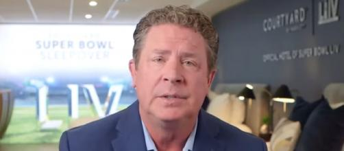 Marino played for the Miami Dolphins for 17 seasons (Image Credit: First Things First/YouTube)
