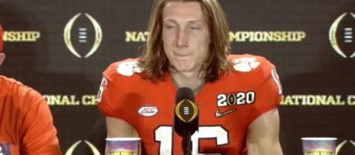 New England Patriots targeting Trevor Lawrence if Tom Brady departs. [Image Source: ESPN College Football/YouTube]