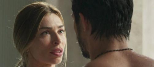 Paloma ficará chateada ao descobrir que Marcos não passará o Carnaval com ela. (Reprodução/TV Globo)