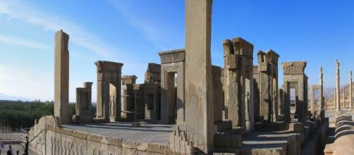 Persepolis in Iran (Image source: Wikipedia]