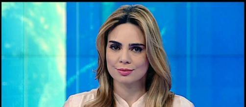 Rachel Sheherazade ganhou notoriedade ao defender pautas vinculadas à direta. (Reprodução/SBT)