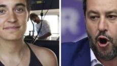 Carola Rackete non andava arrestata, Salvini: 'Lei salvata, io processato'