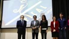 Premios Feroz/ Eva Santolaria dice ser el 'futuro' de los jóvenes actores de Élite