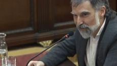 Jordi Cuixart disfruta de su primer permiso fuera de la cárcel