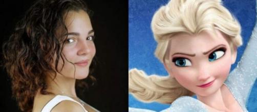Dubladora de Elsa, de 'Frozen', morreu por complicações respiratórias. (Fotomontagem)
