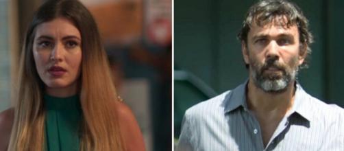 Jeniffer e Elias foram personagens assassinados em 'Bom Sucesso'. (Reprodução/TV Globo)